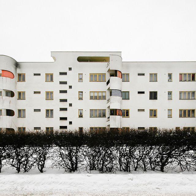 Hans Scharoun Siedlung Siemensstadt. 1929-1931 --Berlín, Alemania--
