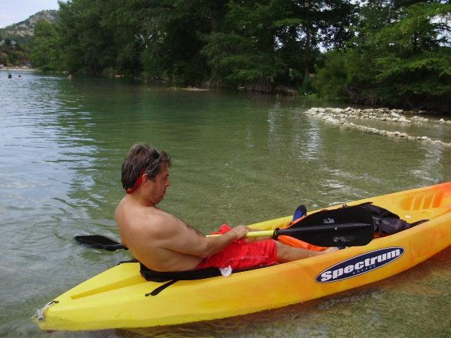 Jim in a Kayak!