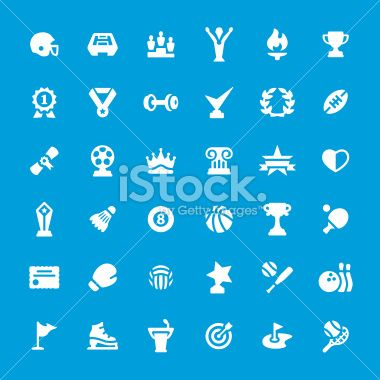 Sport and Award iconset