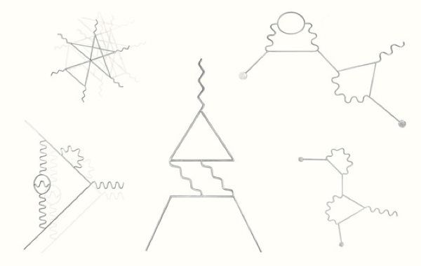 25  best ideas about feynman diagram on pinterest