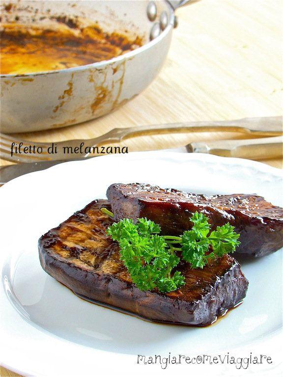 filetto di melanzane  / Eggplant fillets