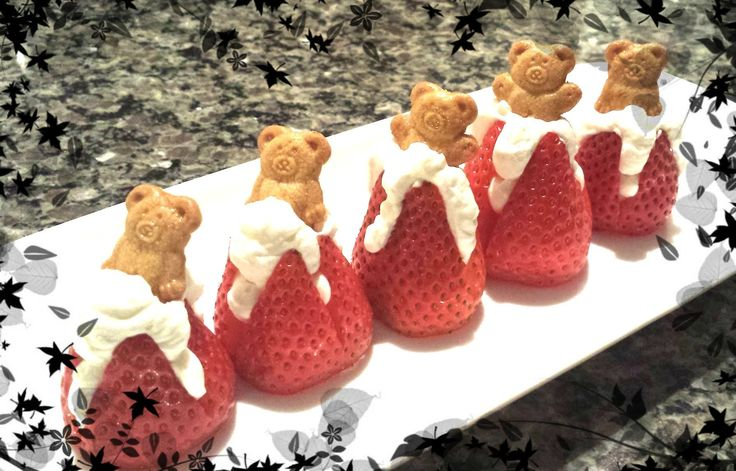Strawberry Cream Delights New Video!! #strawberry #youtube #valentinesday #cheesecake #yummy #baking #recipes #tutorial #food #cooking