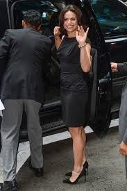 Awesome Lana getting ready to get into her awesome car/limo to leave GMA or Kelly and Michael in NYC 2013
