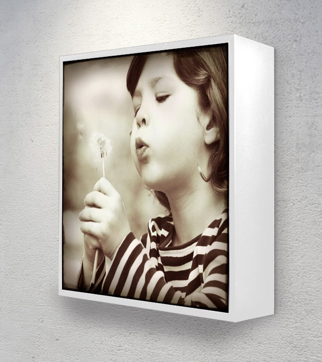 Frame 20x20 White