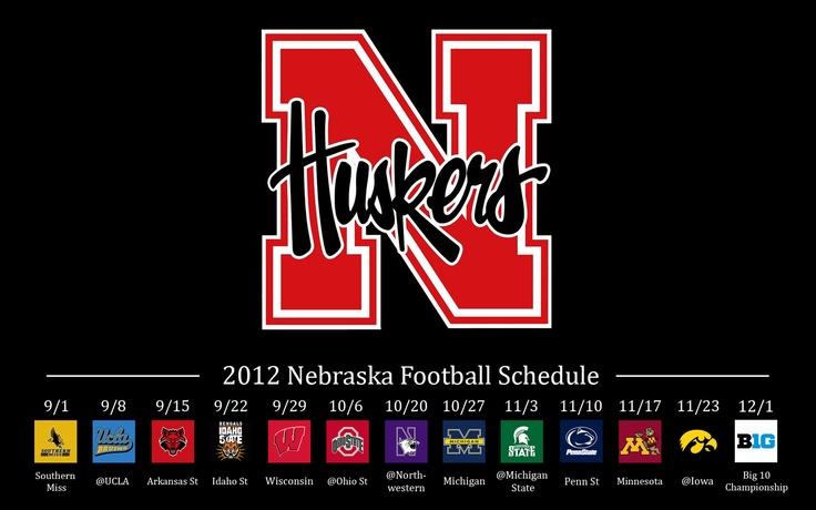 Husker Schedule 2012