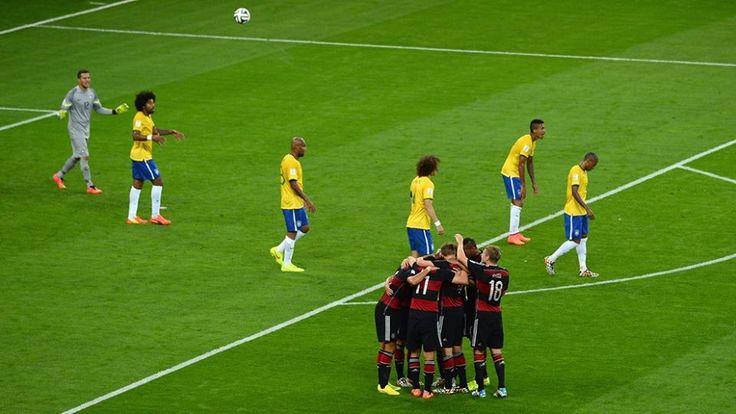 Par Gary Eliézer La sélection brésilienne a été humiliée mardi par l'Allemagne (1-7) à Belo Horizonte lors de la première demi-finale de la coupe du monde. C'est peut-être incroyable mais une réalité, sans Neymar (blessé) et Thiago Silva (suspendu), un Brésil cauchemardesque dépassé par les évènements a reçu 7 buts face à l'Allemagne et neContinue Reading →