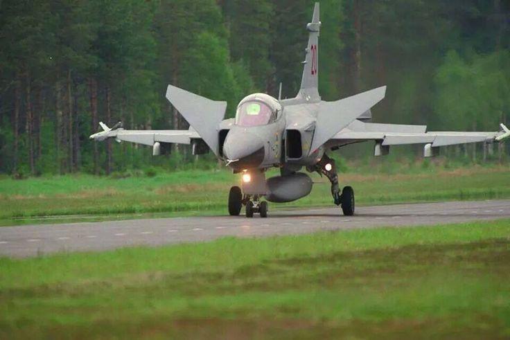"Royal Swedish Air Force SAAB JAS-39C ""Gripen"""