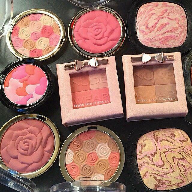 Gorgeous shades of Physicians Formula blush. #beauty #physiciansformula #blush #makeup