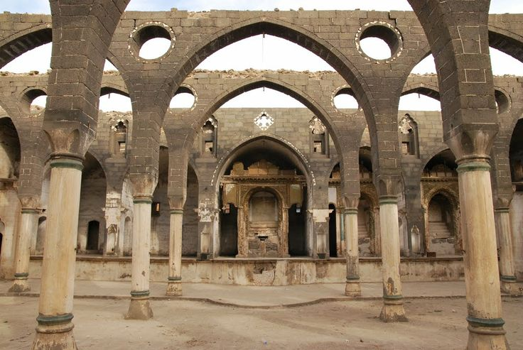 Armenian church in Diyarbakir, Turkey, before it was restored.