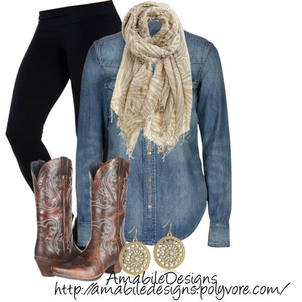 Country Fall Casual By Amabiledesigns On Polyvore Chic ClothingCountry