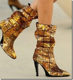 Chanel shoes for Fall Couture 2010