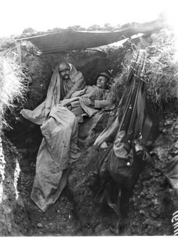 French Army trench, Cote 304, Verdun