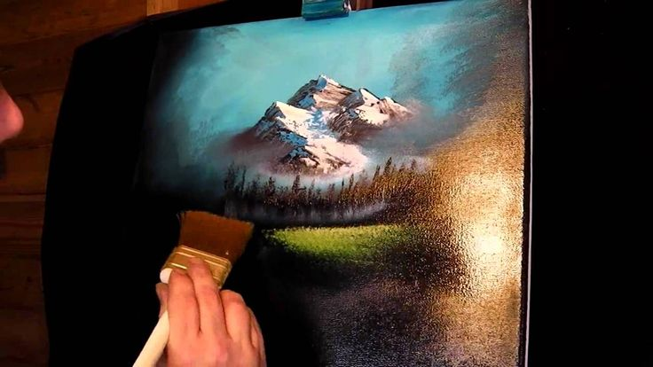How to Oil Paint - The Waterfall