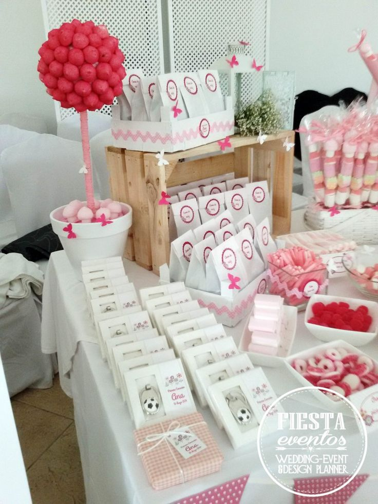 Mesa dulces primera comuni n ana fiestaeventos - Ideas para mesas dulces de comunion ...