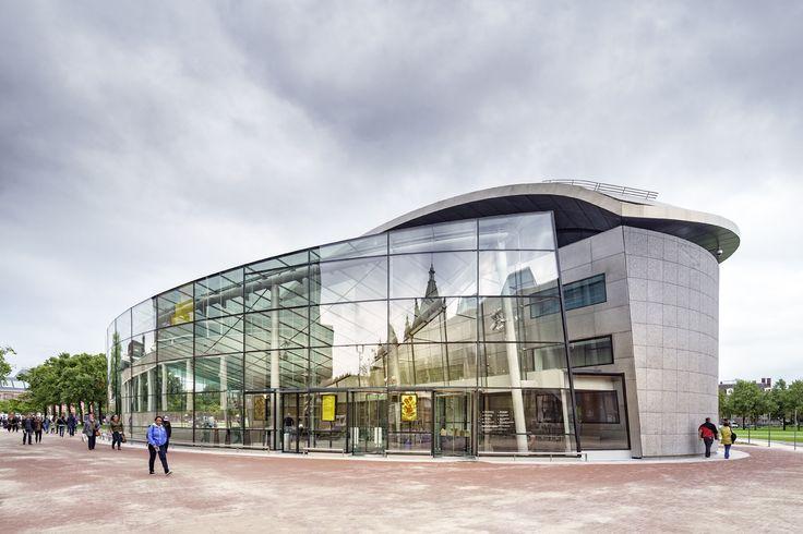 Nieuwe Entreegebouw Van Gogh Museum / Hans van Heeswijk architecten, Kisho Kurokawa Architect & Associates / Stichting Van Gogh Museum / Museumplein 6