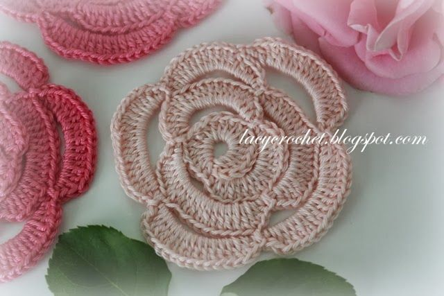 crochet+rose+pattern.JPG 640×427 pixels