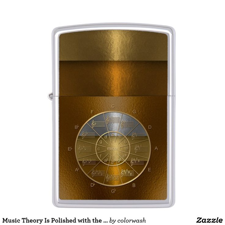 Music Theory Is Polished #Zippo Lighter