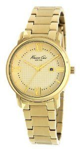 Kenneth Cole Gold Tone Champagne Kc4793