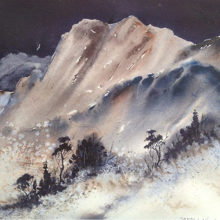 Tasmanian landscape  - Sandy Michell