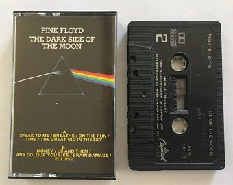 Pink Floyd - The Dark Side of the Moon - vintage cassette tape audio music - progressive rock - 1973 - Abbey road - Free shipping Canada USA