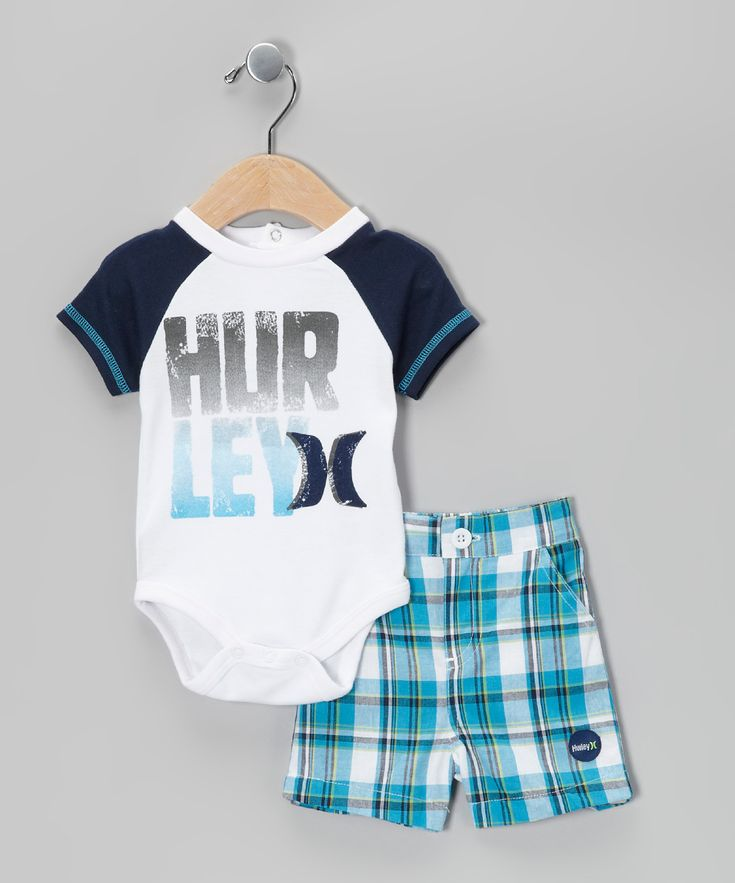 Hurley Onsie and Board Shorts - Adorable