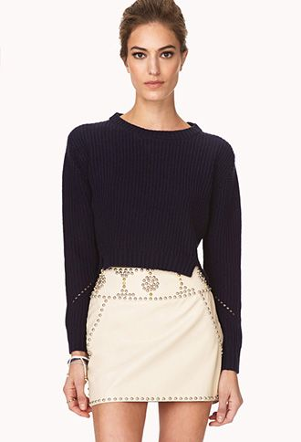 Out West Studded Mini Skirt   FOREVER21 - 2000125727 #ForeverHoliday Too cute!  Glamorous.  Feminine with an edge!