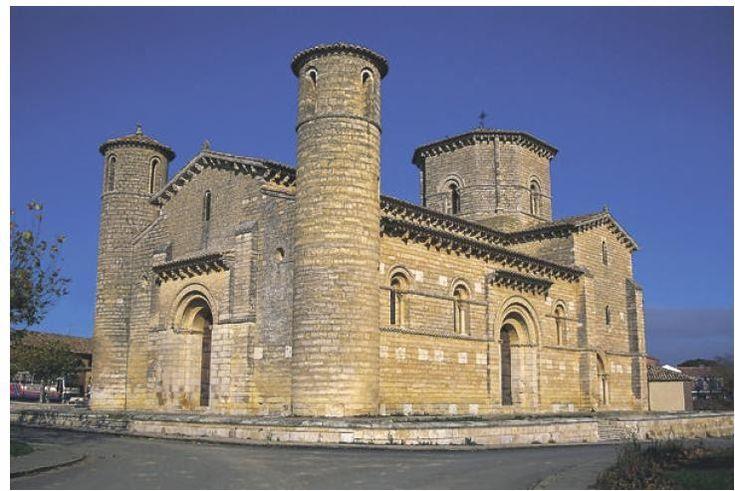 Iglesia de San Martín de Frómista (Palencia). S. XI  El arte Románico es el estilo artístico predominante en Occidente en los siglos XI, XI...