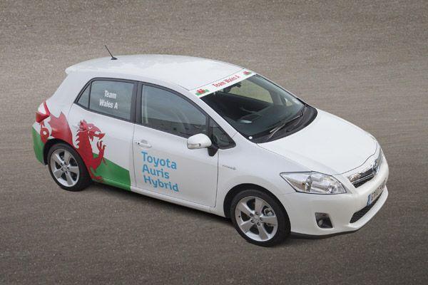 Toyota Hosts Hybrid Nations Challenge