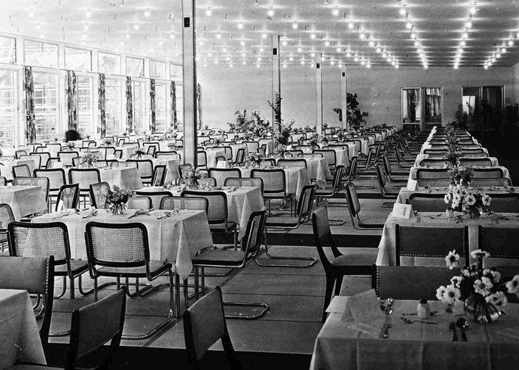 Das Bundestags-Restaurant, 1949. (Stadtarchiv und Stadthistorische Bibliothek Bonn)
