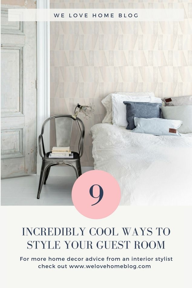 Maxine Brady at WeLoveHome, bedroom, guest room, spare room, interior stylist, home decor advice,