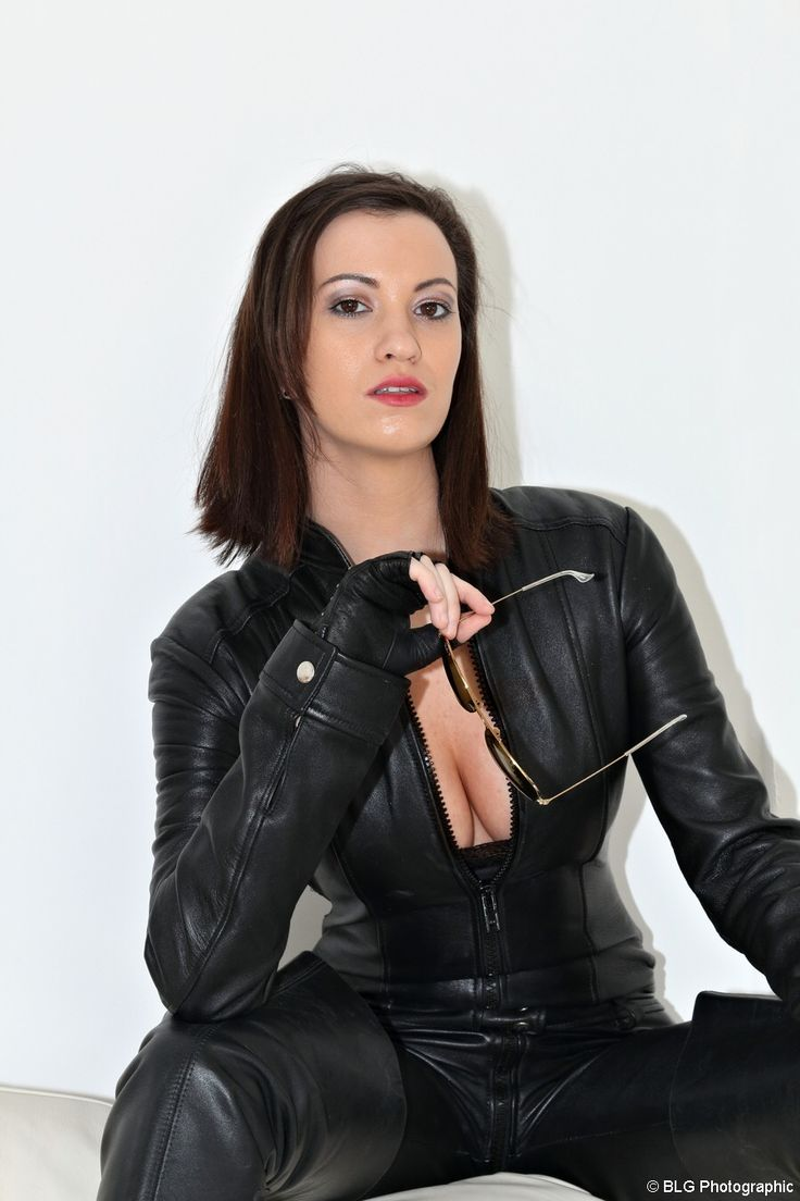 Pin By British Leather Girls On Michelle Leather Catsuit