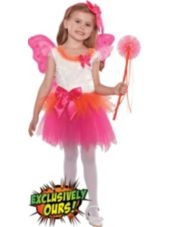 Toddler Girls Fuchsia Eloise Fairy Princess Costume-Party City LOVE THE COLORS