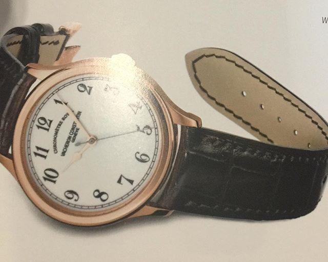 REPOST!!!  Vacheron Constantin Chronometre Royal #vacheronconstantin #chronometreroyal  #AutomaticWatch; #Chronograph, #Chronometer, #CollectibleWatch, #CollectibleWatches, #ExpensiveWatch, #HeirloomChronometer, #HeirloomTimepiece, #HeirloomTimepieces, #HeirloomTourbillon, #LuxuryTourbillon, #HeirloomWatch, #HeirloomWatches, #LuxuryChronograph, #LuxuryChronometer, #LuxuryTimepieces, #LuxuryWatches, #RegulatorWatch, #SkeletonWatch, #SwissWatch, #SwissWatches, #Timepieces, #timepiece…