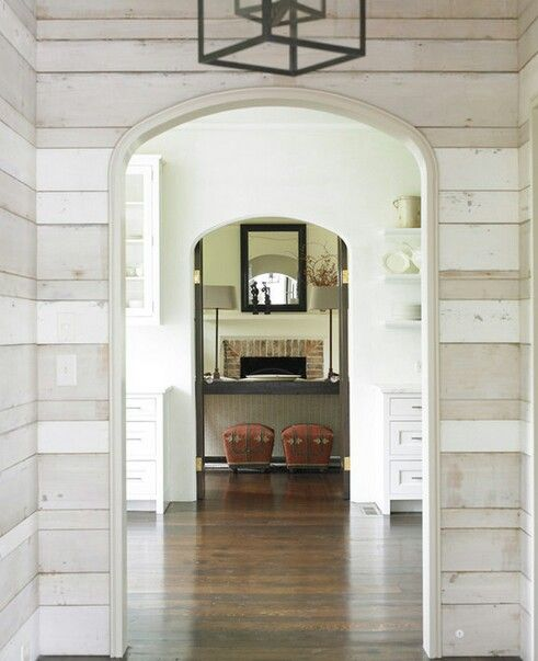 White Washed Wood Walls Home Projects Pinterest