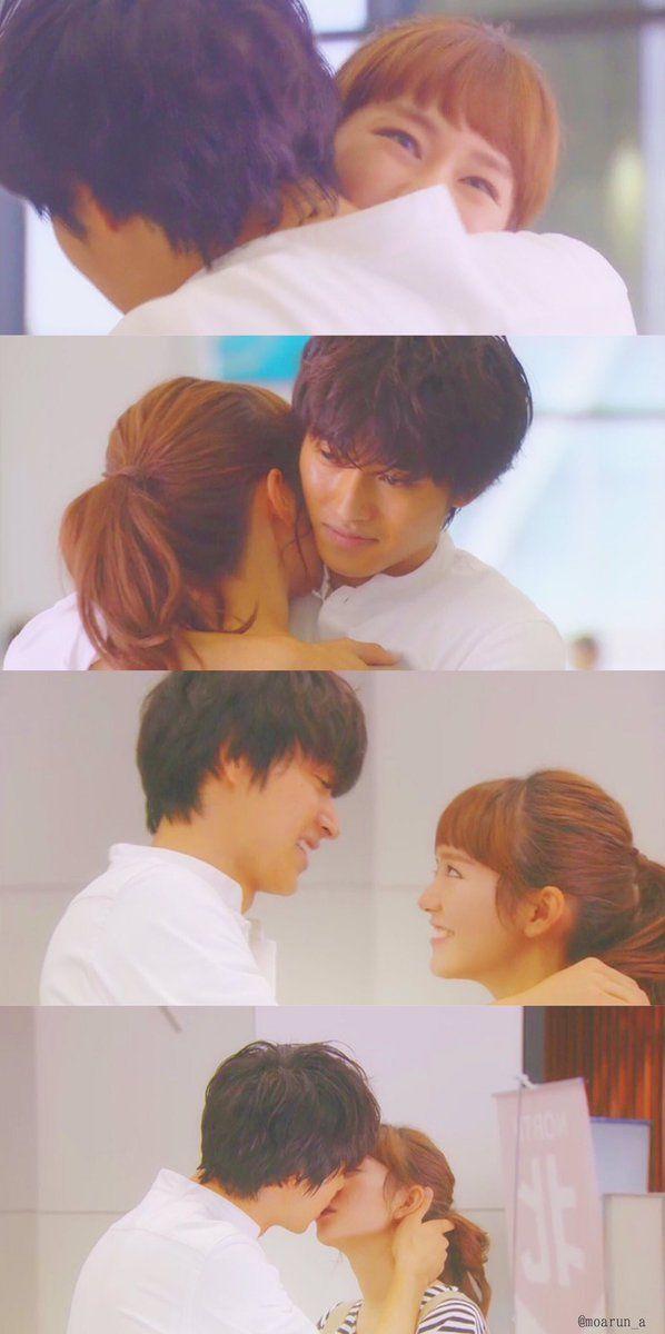 """ep.10 Mirei Kiritani x Kento Yamazaki, J drama """"Sukina hito ga iru koto (A girl & 3 sweethearts)"""", Sep/19/2016"""