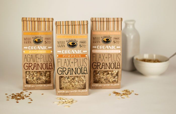 student work :: rebrand of Nature's Path Granola :: designed by Tayler Westlake