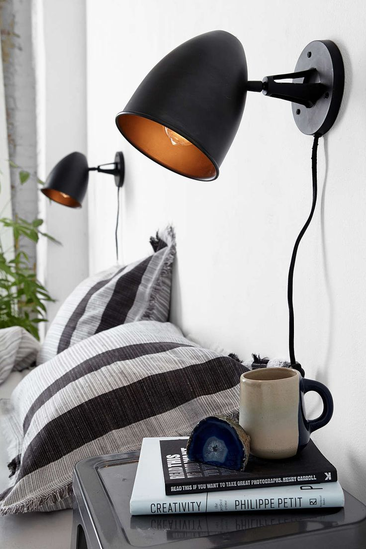 4040 Locust Blacksmith Sconce Urban outfitters, Home and Bedside lamp