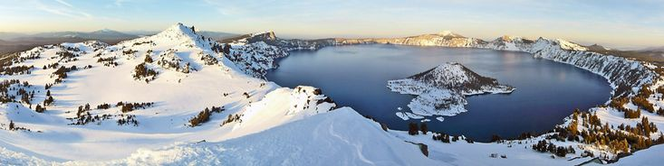 Klamath County is home to Crater Lake National Park. No place on earth combines a deep, pure lake, so blue, sheer cliffs, and a volcanic past.