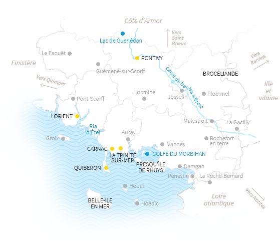 Gîtes de France Morbihan sur le territoire du Pays d'Auray http://leclosdumenallen.com