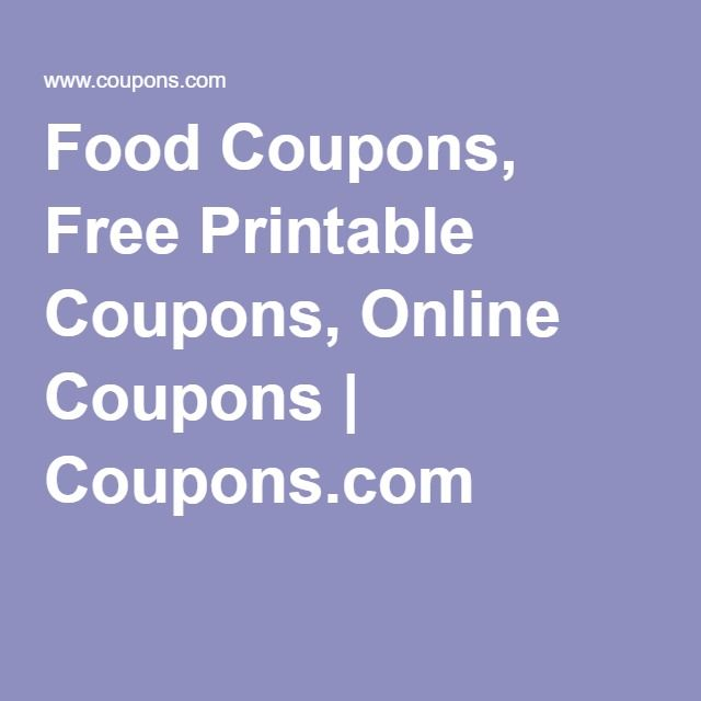 Best 25 free food coupons ideas on pinterest free coupons for food coupons free printable coupons online coupons coupons fandeluxe Gallery