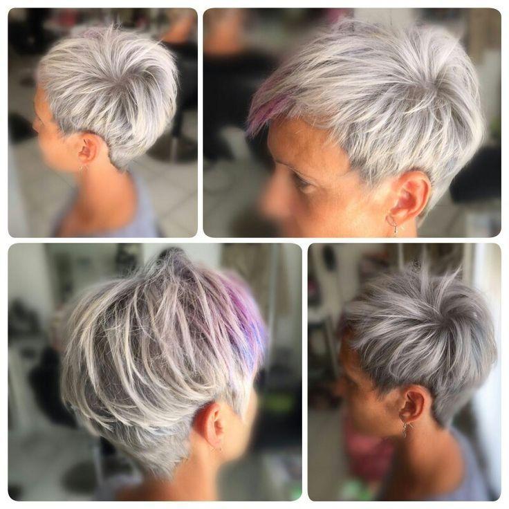 Kurzhaar Asymmetrisch Metallisch Allgemein Aktuelle Kurzhaarschnitte Asymmetrische Kurzhaa In 2020 Kurzhaarschnitte Haarschnitt Kurze Haare Schone Frisuren Kurze Haare