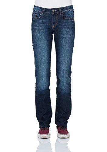 Cross Damen Jeans Rose N487-0138 Regular Fit ocean blue used, Größe:W