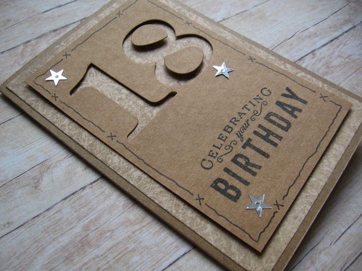 Kartka urodzinowa urodziny życzenia rękodzieło - Projectgallias - Kartki urodzinowe