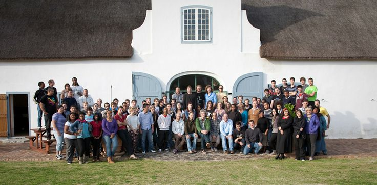 Some of the awesome team who worked on Khumba at Triggerfish