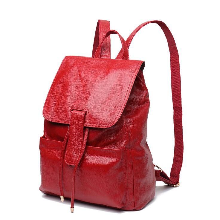 2016 Buena calidad mochilas en cuero online para viajes chicas bolsos de piel mujeres [MY93163] - €62.21 : bzbolsos.com, comprar bolsos online