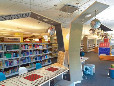 A Game Pavilion At The Fountaindale IL Public Library