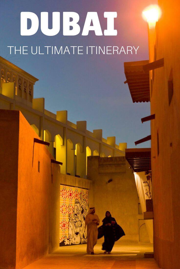 Dubai Itinerary 1 To 7 Days In The Uae Dubai Reise Gunstig Reisen Tunesien