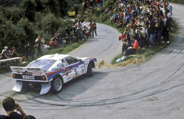 Lancia 037  Ahhhhh group B rally how beautiful and deadly you were...