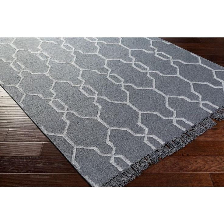 Hines Peak Rain Blue 3 Ft. 6 In. X 5 Ft. 6 In. Indoor/Outdoor Area Rug Awesome Design