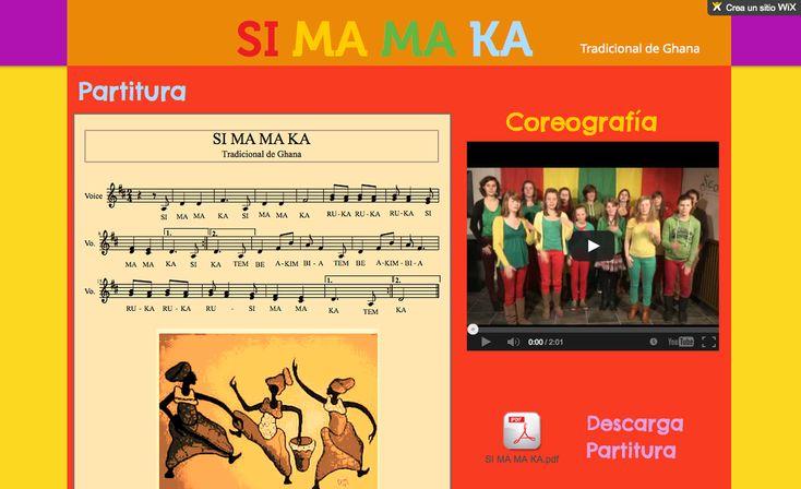 Si Ma Ma Ka, canción africana con coreografía :-)